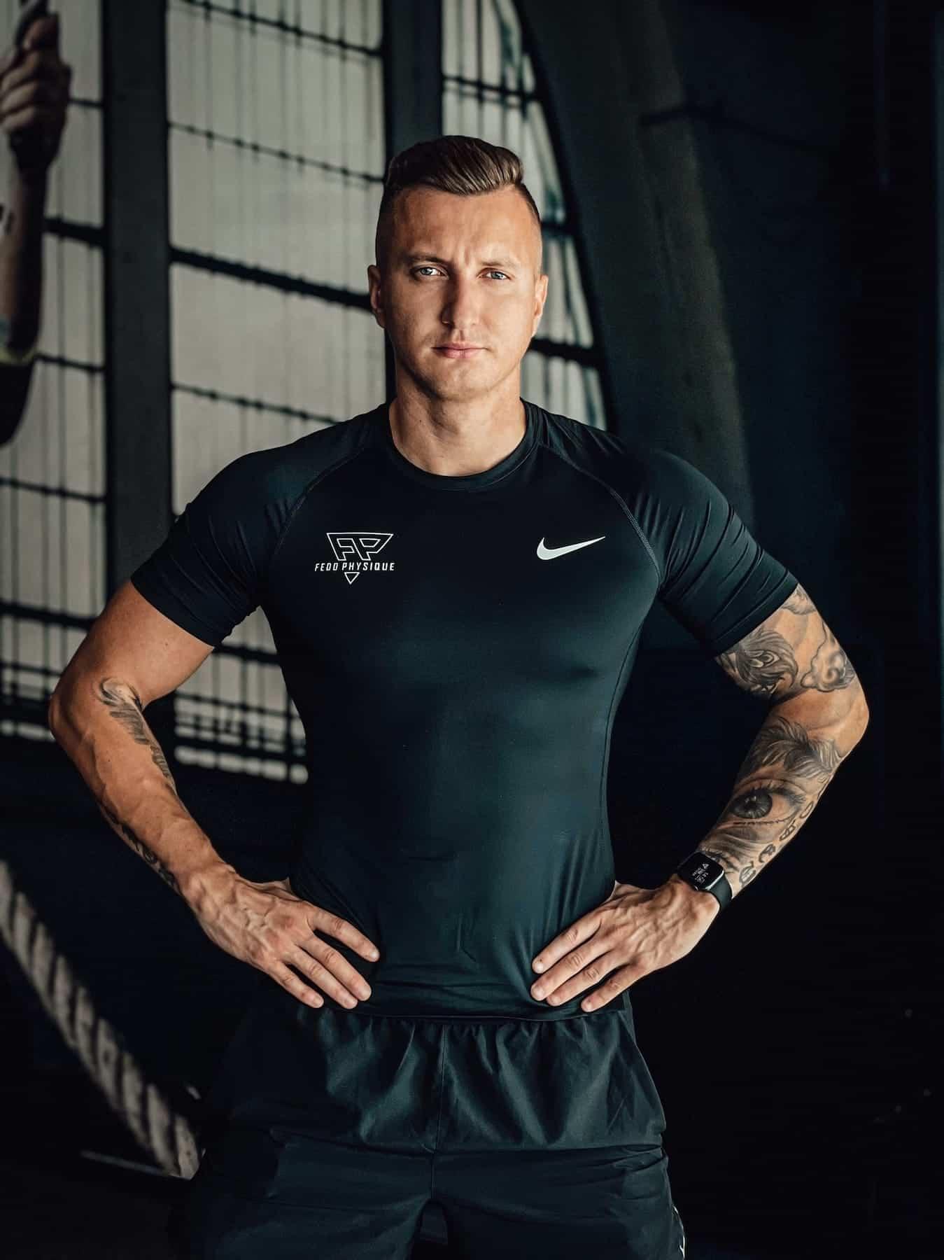 asmenis ir plaukimo treneris aleksandr fedosejev